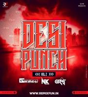 Desi Punch Vol.2 - DJ NK & DJ GRS JBP & DJ Geetanshu