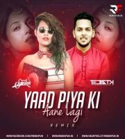 Yaad Piya Ki Aane Lagi (Remix) - DJ Mehak Smoker DJ Tejas TK